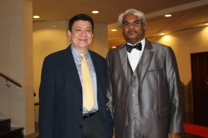 With Philip Mills who heads AsiaPR's presence in Phnom Penh, in the kingdom of Cambodia.