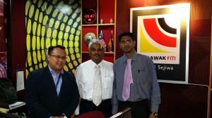 Interview by Sarawak FM